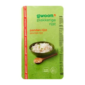 g'woon Pandan rijst product photo