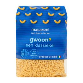 g'woon Macaroni product photo