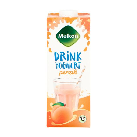 Melkan Drinkyoghurt perzik product photo