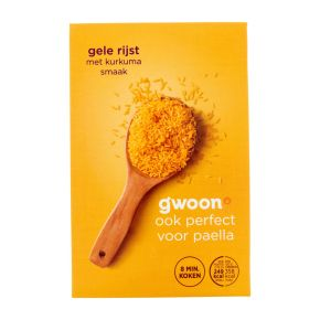 g'woon Gele rijst product photo