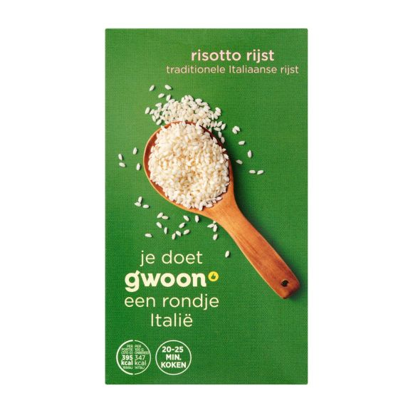 g'woon Risotto rijst product photo