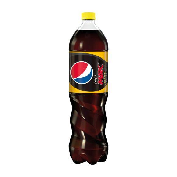 Pepsi Max cola cool lemon product photo
