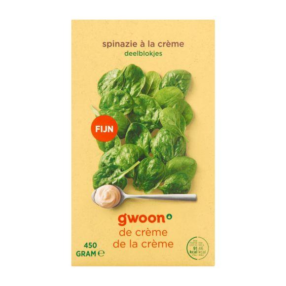 g'woon Spinazie à la crème product photo