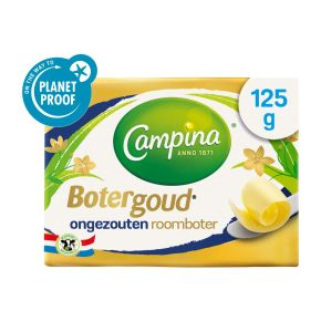 Campina Botergoud ongezouten roomboter product photo