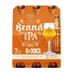 Brand IPA bier fles 6x30cl product photo