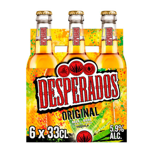 Desperados Original bier fles 6x33cl product photo