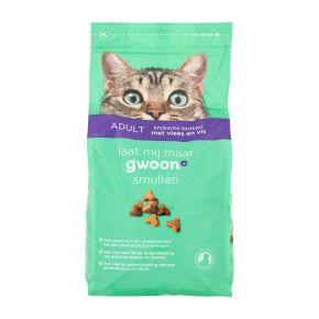 g'woon Kattenvoer krokante brokjes vlees & vis product photo