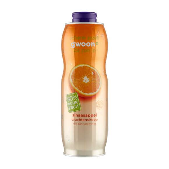 g'woon Siroop sinaasappel product photo