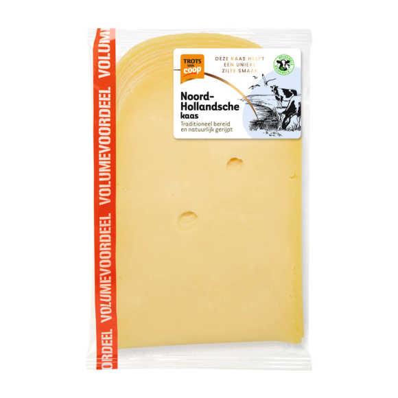 Trots van Coop Noord-Hollandsche jong belegen 48+ voordeel kaas plakken product photo