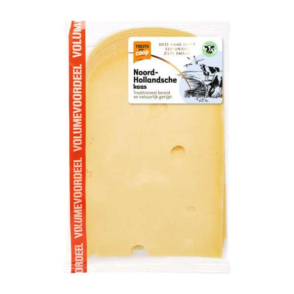 Trots van Coop Noord-Hollandsche belegen 48+ voordeel kaas plakken product photo