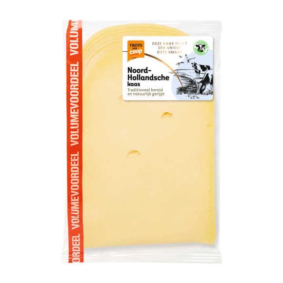 Trots van Coop Noord-Hollandsche jong 48+ voordeel kaas plakken product photo