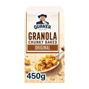 Quaker Havermout granola chunky baked original product photo