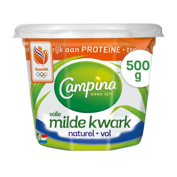 Campina Volle kwark naturel product photo