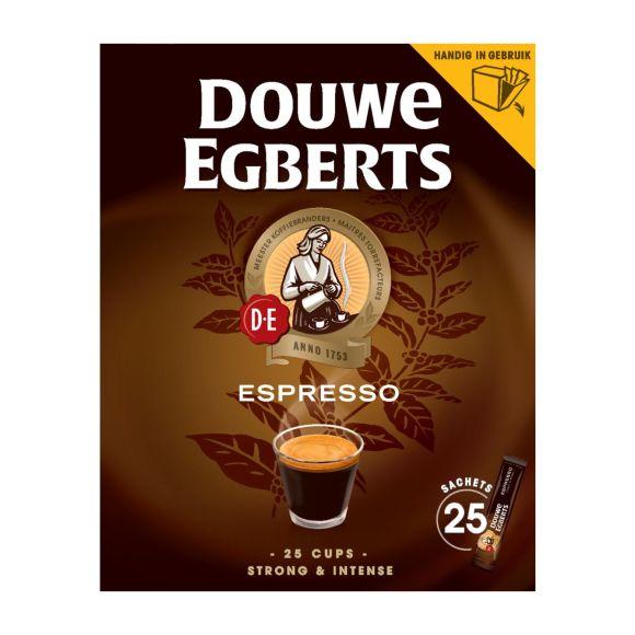 Douwe Egberts Espresso sticks oploskoffie product photo