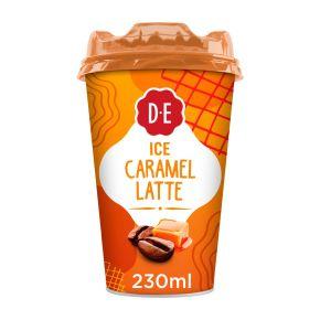 Douwe Egberts Ice caramel latte ijskoffie product photo