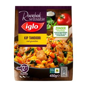 Iglo Roerbaksensatie Kip Tandoori product photo