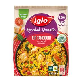 Iglo Roerbaksensatie kip tandoori product photo