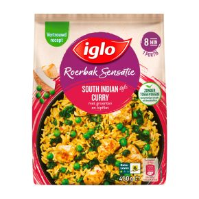 Iglo Roerbaksensatie South Indian Curry product photo
