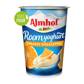 Almhof roomyoghurt Spaanse sinaasappel product photo