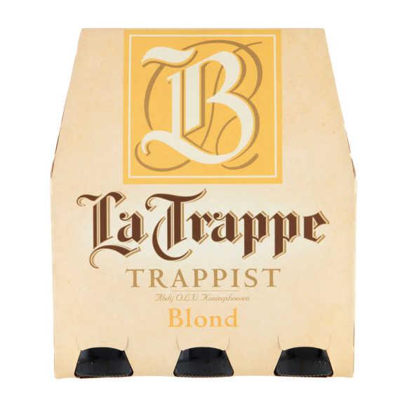 La Trappe Trappist blond bier fles 6 x 30 cl product photo