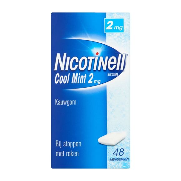 Nicotinell Cool Mint kauwgom 2 mg product photo