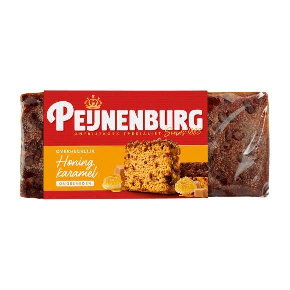 Peijnenburg Ontbijtkoek honing caramel ongesneden product photo