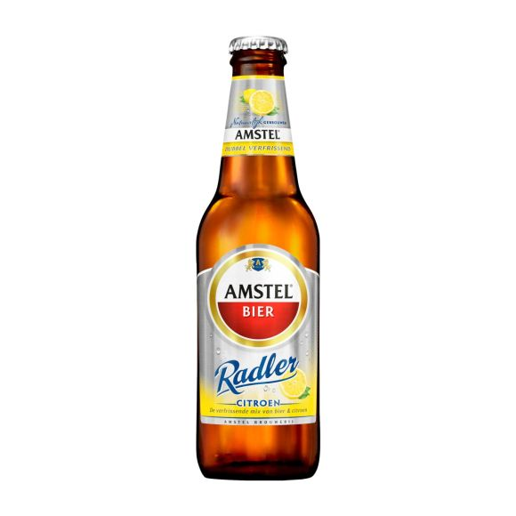 Amstel Radler citroen bier fles product photo