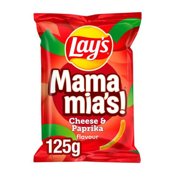 Lay's Mama Mia's paprika-kaas product photo