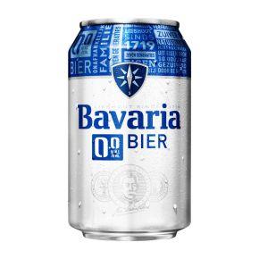 Bavaria 0.0% bier blik product photo