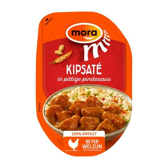 Mora Kipsaté in pittige pindasaus product photo