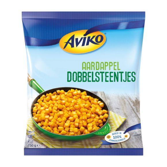 Aviko aardappeldobbelsteentjes product photo