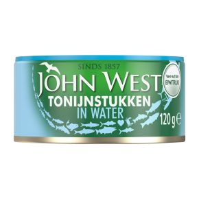 John West Tonijnstukken in water product photo