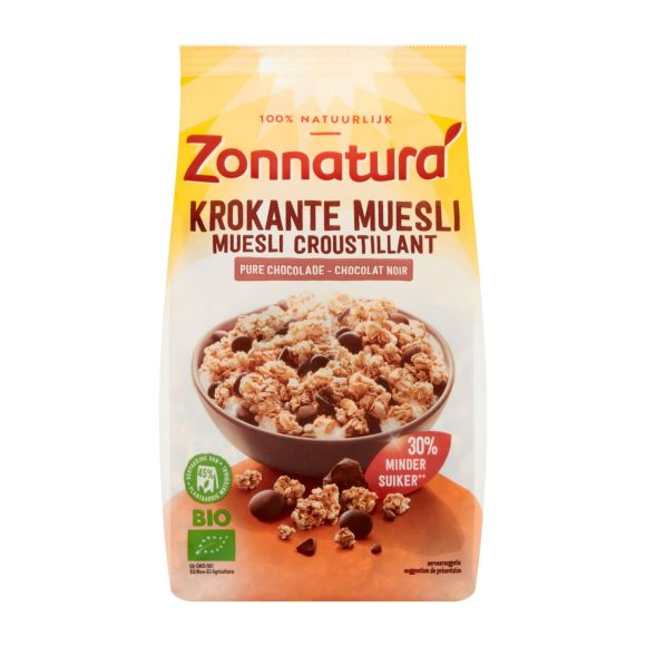 Zonnatura Krokante muesli chocolade product photo