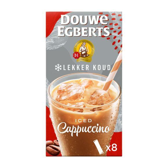 Douwe Egberts Lekker koud cappuccino oploskoffie product photo