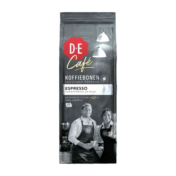 Douwe Egberts D.E Café espresso koffiebonen product photo