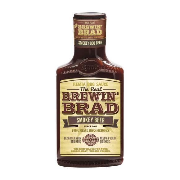 Remia Brewing Brad Smokey BBQ Beer 450ml product photo