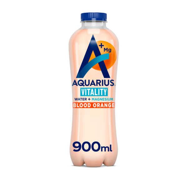 Aquarius Water+ blood orange product photo