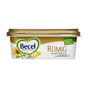 Becel Romig margarine vegan en 100% plantaardig kuip product photo