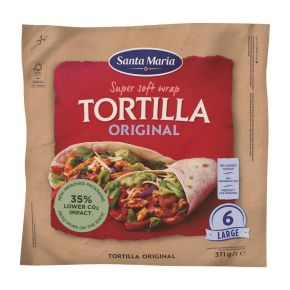 Santa Maria Original wrap tortilla product photo