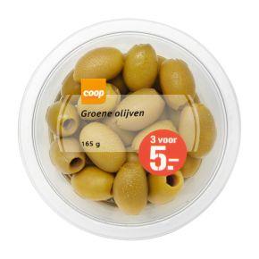 Coop Tapas olijven groen product photo