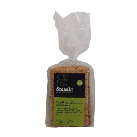 Smaakt Spelt & lijnzaad crackers product photo