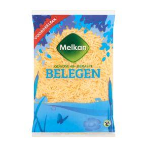 Melkan Geraspte kaas belegen 48+ voordeel product photo