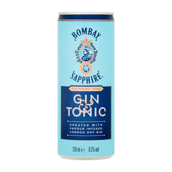 Bombay Sapphire Gin & tonic product photo