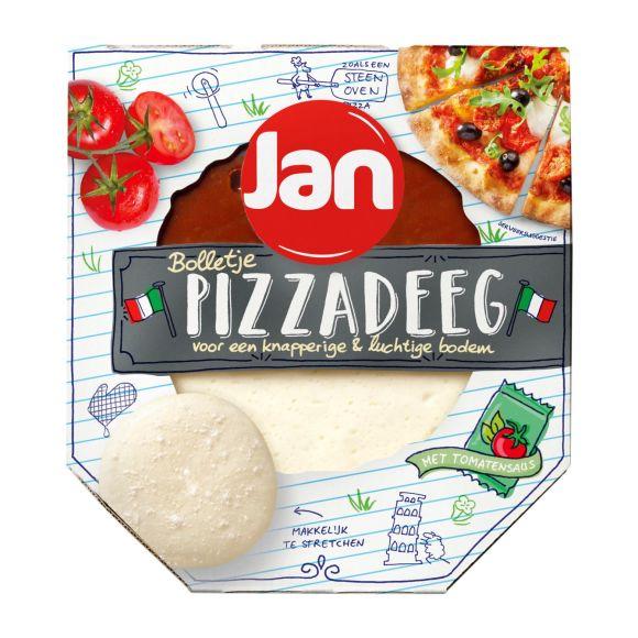 Jan Pizzabol met saus product photo