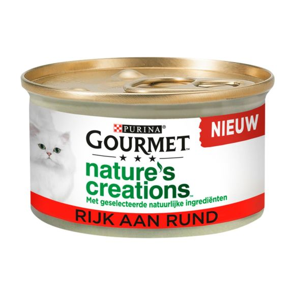 Gourmet Naturals rund single product photo