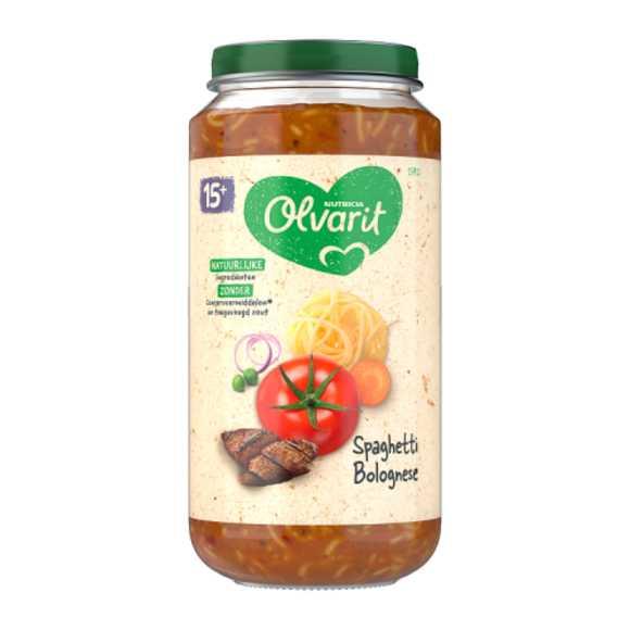 Olvarit Spaghetti bolognese 15+ maanden product photo