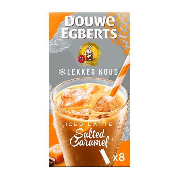 Douwe Egberts Latte salted caramel ice oploskoffie product photo