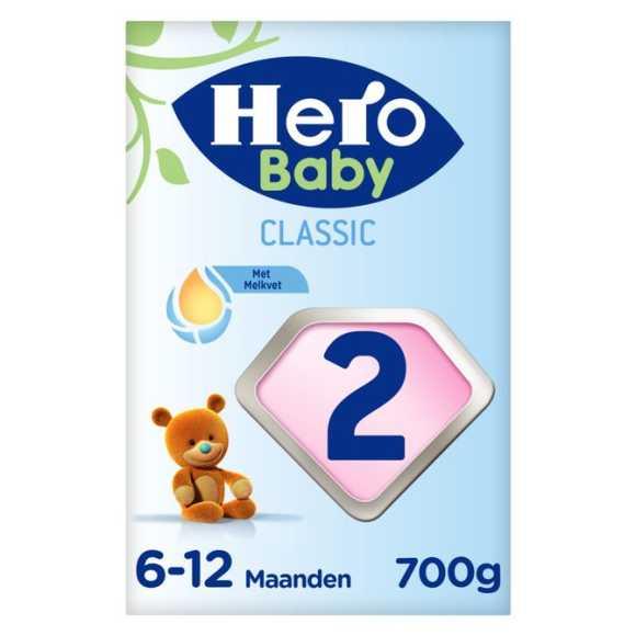 Hero Baby Opvolgmelk 2 met melkvet 6 - 12 maanden product photo