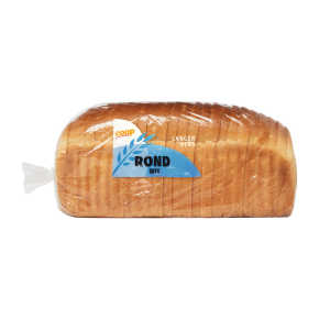 Rond wit brood heel product photo