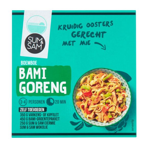 Sum & Sam Boemboe bami goreng product photo